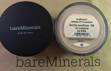 BARE MINERALS ORIGINAL SPF 15 FOUNDATION - FAIRLY MEDIUM C20 8g - UK POST
