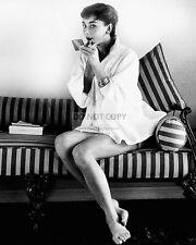 AUDREY HEPBURN LEGENDARY ACTRESS - 8X10 PUBLICITY PHOTO (BT136)