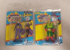 DC Comics Super Powers Micro-Figures Lex Luther & The Joker- Lot of 2