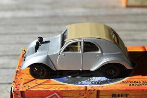 1:43 NOREV ELIGOR HACHETTE Citroën 2 CV PROTOTYPE TERRASSON 1939