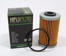 Pair of HF655 oil filters KTM Husaberg EXC SXF FE390 FE450 FE570