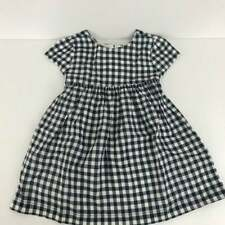 Gymboree 2019 Blue Gingham Checked Dress Toddler Girls 18-24M  Months  NWT