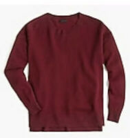 Womens J Crew Relaxed Everyday Cashmere Sweater Size S
