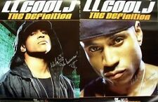 Ll Cool J 2004 the definition Big 2 sided promotional poster New old stock