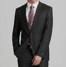 $1115 Hugo Boss Men's 36S Gray Regular Fit Wool Sport Coat Suit Jacket Blazer
