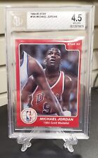 1984-85 Star Michael Jordan #195 Beckett 4.5 VG-EX+ 1984 Olympics