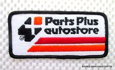 """Parts Plus Auto Store Embroidered Sew On Patch Advertising Uniform 4 1/4"""" x 2"""""""