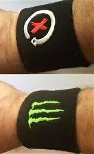 Sweatbands 2 Wristbands Lorenzo 99 Monster Ducati MotoGp Bike Bsb Superbike Us