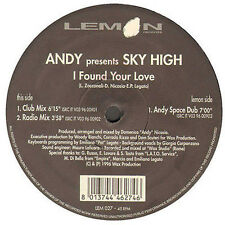 ANDY - I Found Your Love, Pres. Sky High - Lemon - 1996 - LEM 027 - Ita