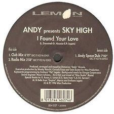 ANDY - I Found Your Love, Pres. Sky High - Lemon - 1996 - LEM 027 - Ita
