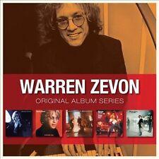 Original Album Series by Warren Zevon (CD, 2009, 5 Discs, Warner Bros.)