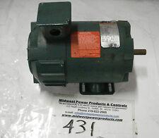 Reliance DC motor T56H1100, .25hp, 1725rpm, 56HC, 90vdc, 50/100v field, TENV