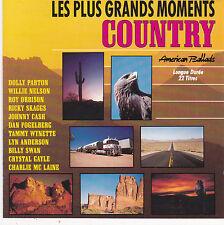 CD 22T COUNTRY FOGELBERG/PARTON/MC LAINE/ORBISON/BILLY SWAN/GAYLE/CASH/SKAGGS 89