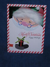 Burgoyne Handmade - Santa - Christmas Greeting Card - NEW