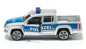 Siku Super 1406 Volkswagen VW Amarok Pick-up Police Command Car
