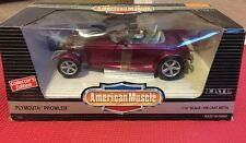 PLYMOUTH PROWLER AMERICAN MUSCLE CARS 1/18 MAGENTA RAT ROD FAST CAR