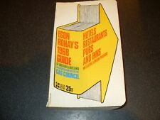 Egon Ronay's 1968 Guide Great Britain & Ireland - Hotels Restaurants Pubs & Inns
