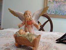 "Goebel Guardian Angel With Cradle # 41069 8 1/2"" No Box"