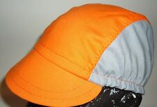 CYCLING CAP ONE SIZE HANDMADE IN USA 100% COTTON