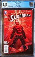 Superman (2011 3rd Series) #33 Romita Jr Variant CGC 9.8 1:100