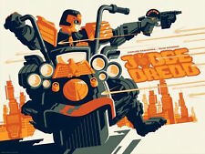 JUDGE DREDD TOM WHALEN 2016 Limited edition print #110 18x24 Mint 2000 AD