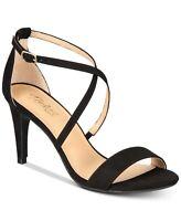 Thalia Sodi Women's Darria Strappy Dress Sandal Size 7.5M Black