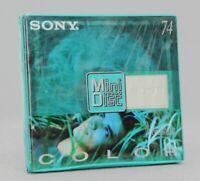 Sony Color Collection MiniDisc MD 74 Neuf (Réf#E-932)