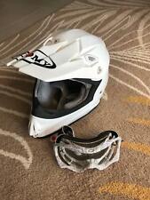 Suomy Mr Jump White Motorcycle Helmet Dirt MX Medium size