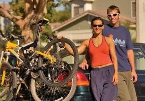 Allen Sports Deluxe 2-Bike Cycling Trunk Mount Rack Fits Wide Size Range #102 DB