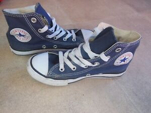 Boys Blue converse size 13