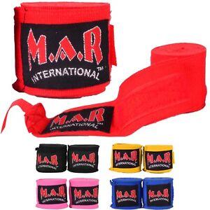 MAR Elasticated Cotton Spandex Boxing Hand Wraps