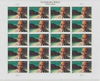 Ralph Ellison Literary Arts Sheet of 20 Forever Postage Stamps Scott 4866