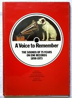 A Voice to Remember the sounds of 75 Years of EMI Records 1898-1973 Roland Gelat