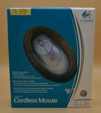 Logitech Cordless Mouse Grau