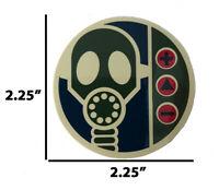 """Alien Workshop Gas Mask Skateboard Sticker 2.25"""" Believe Alien UFO Area 51 AWS"""