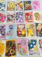 20 x Paper quilling card hand made Birthday card lot