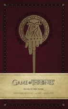 Game of Thrones: Hand of the King Hardcover Ruled Journal (Hardback or Cased Boo