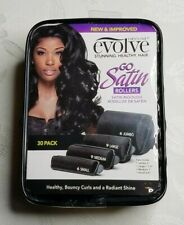Evolve Go Satin Covered Rollers 30 Pack Brand New