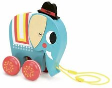 Vilac Pull Toy - Elephant designed by Ingela P. Arrhenius