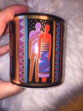"Laurel Burch ""Tribal Spirit"" Mug 1988 Beautiful Condition"