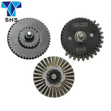 SHS 100:200 Helical Super Torque Gear Set For Ver.2 / 3 AEG Airsoft Gearbox