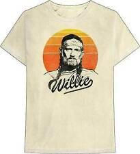 Zion Rootswear Willie Nelson Sunset Gradient Country Music T Shirt ZRWN1060
