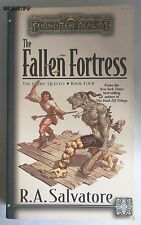 THE FALLEN FORTRESS R.A.Salvatore Book 4 Forgotten Realms Dungeons & Dragons TSR