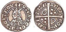 Rarisimo Croat De Plata  Perdo IV (1387-1396) - (Badia falta) (Crusafont.225).