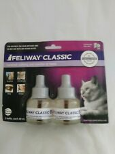 New Feliway Classic 2 Refills For Cats 2 Months! For Ceva Diffuser