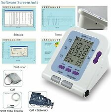 LCD Desktop Electronic Sphygmomanometer,NIBP Monitor,Free Software,US Seller,HOT