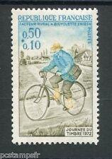FRANCE 1972 timbre 1710, Vélo, Journée  timbre, neuf**