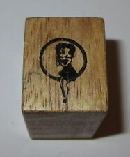 Betty Boop Rubber Stamp Character Hero Arts Wood Mounted Retro