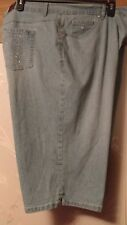 GLORIA VANDERBILT SKIMMER ULTRA STRETCH SHORTS/CAPRI SZ, 22W NWT RETAIL $54.00