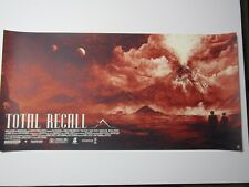Total Recall Screen Print Poster by Karl Fitzgerald edition #200 (Not Mondo)